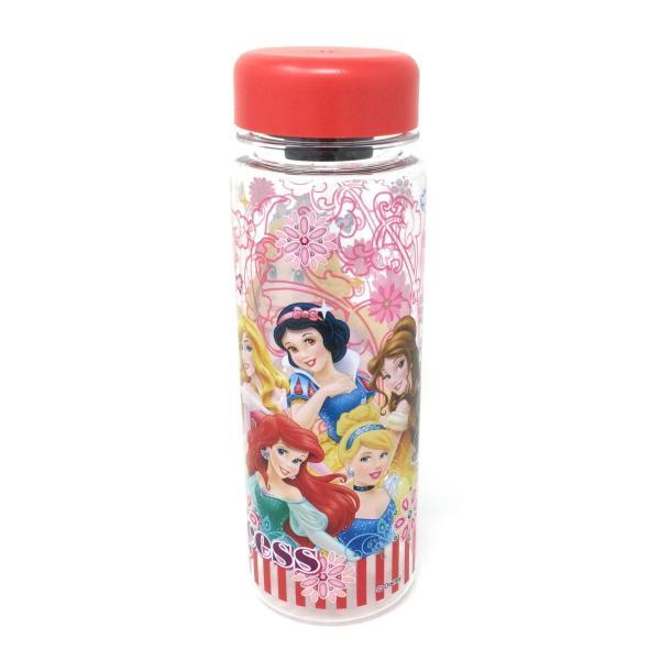 ディズニープリンセス ウォーターボトル(レッド)水筒 プラスチック 4589617963657 キャラクター グッズ メール便OK|poccl|02