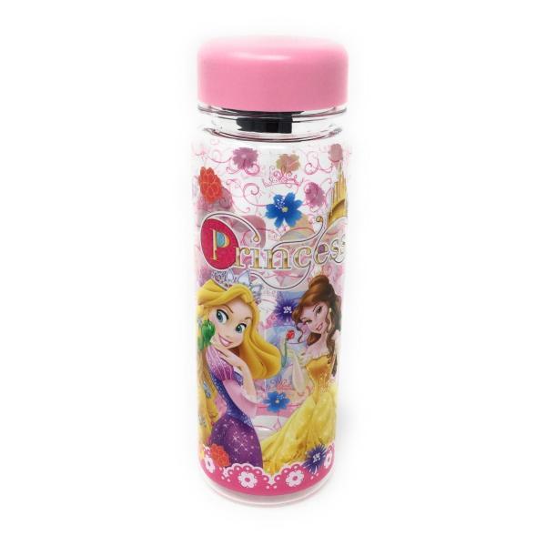 ディズニープリンセス ウォーターボトル(ピンク)水筒 プラスチック 4589617963664 キャラクター グッズ メール便OK|poccl