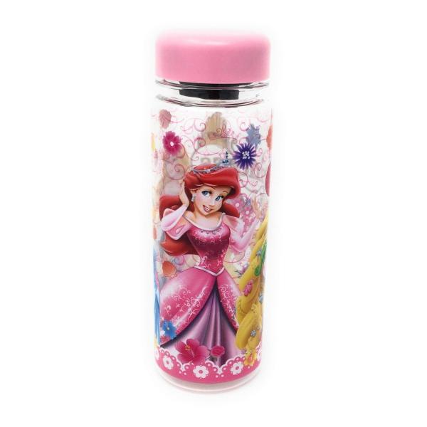 ディズニープリンセス ウォーターボトル(ピンク)水筒 プラスチック 4589617963664 キャラクター グッズ メール便OK|poccl|03