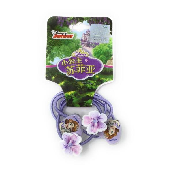 ソフィア シンプルヘアゴム4個セット Disney 6941033429519 キャラクター グッズ メール便OK|poccl
