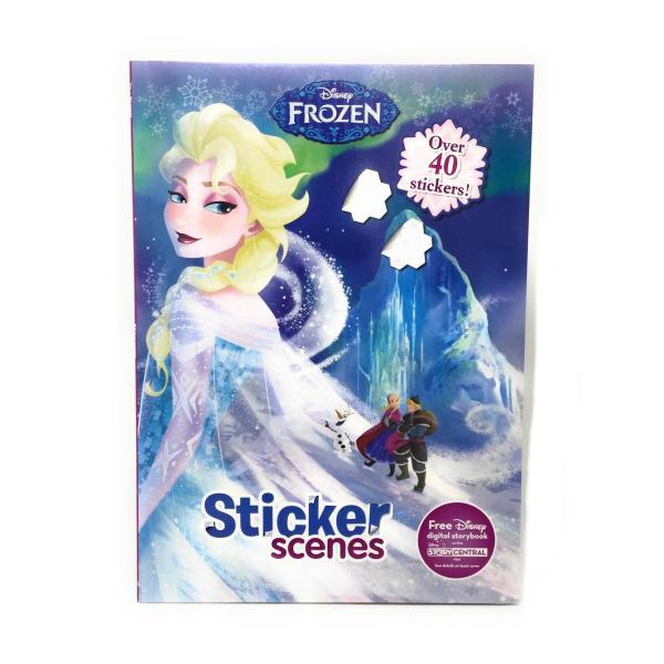 アナと雪の女王 ステッカーブック Disney 9781474820103 キャラクター グッズ メール便OK