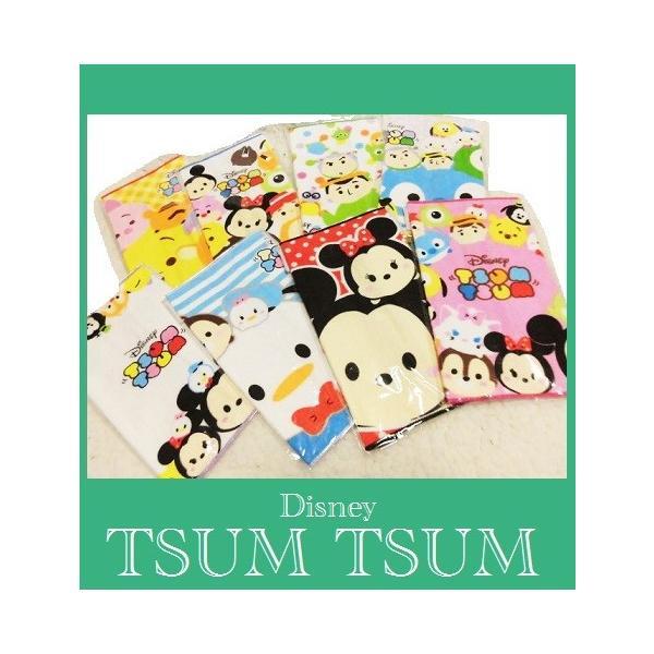 低価格ミニタオル ディズニーTSUM TSUM   ツムツムミニタオル8種  ゆうパケットメール便