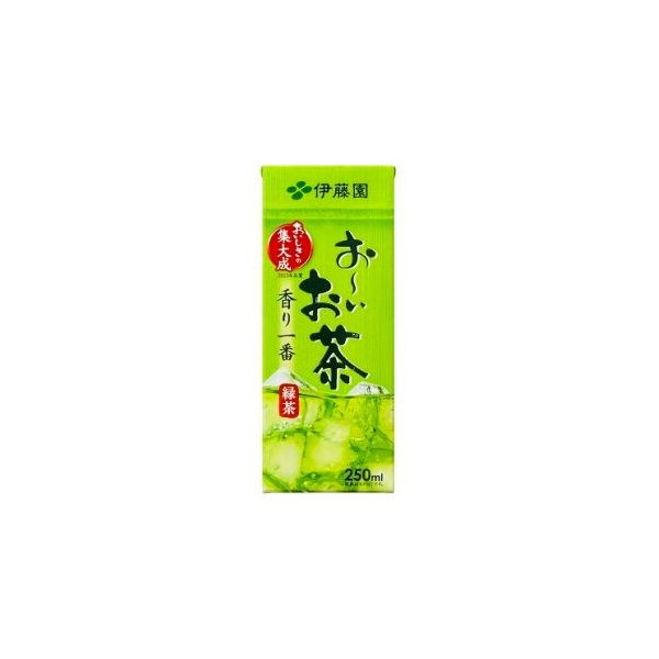 伊藤園 お〜いお茶 緑茶 250ml紙パック 24本入(おーいお茶)