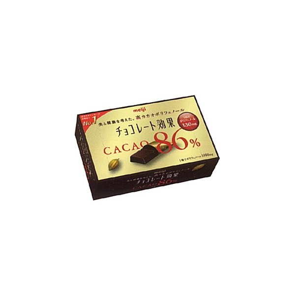 明治チョコレート効果カカオ86%70g×5箱入