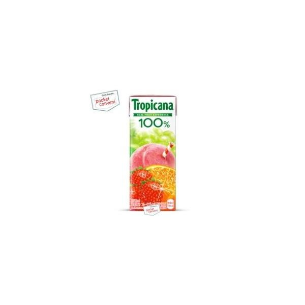 トロピカーナ 100%ジュース フルーツブレンド 250ml×24本 紙パック