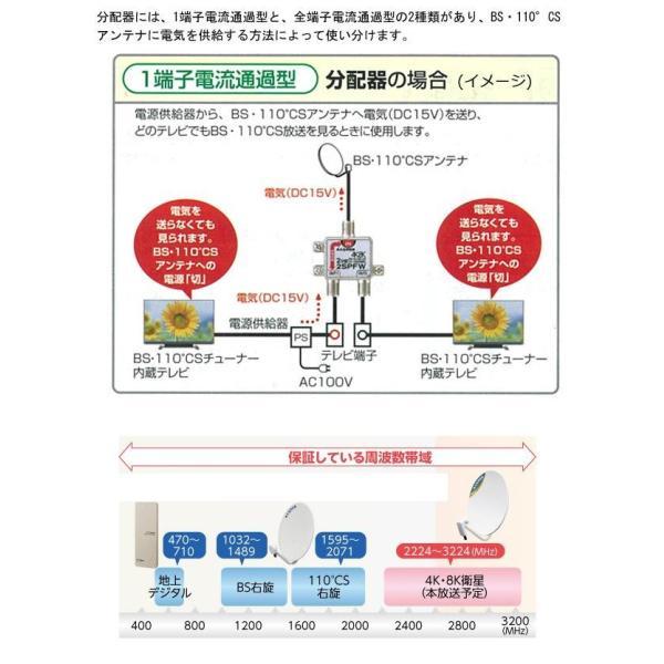 マスプロ電工 4K8K放送対応 8分配器 8SPFW