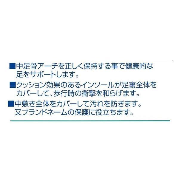 コロンブス フットソリューション プレミアムクリアインソール 女性用 フリーサイズ 21.5〜25cm