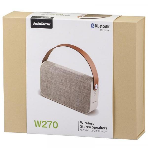 OHM AudioComm ワイヤレスステレオスピーカー ASP-W270N