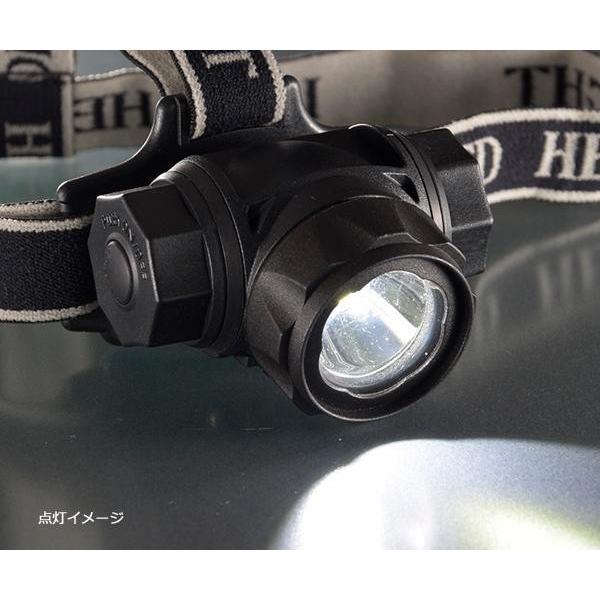 オーム電機 OHM WALED 防水 LEDヘッドライト 400ルーメン LC-SYW433-K