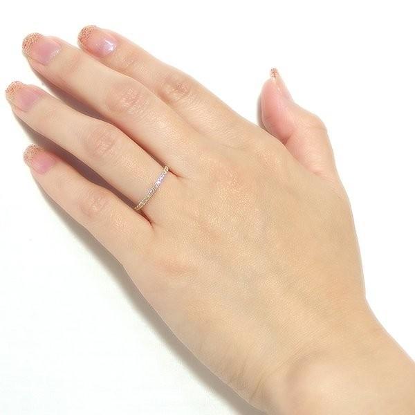 鑑別書付 K18イエローゴールド 天然ダイヤリング 指輪 ダイヤ0.20ct
