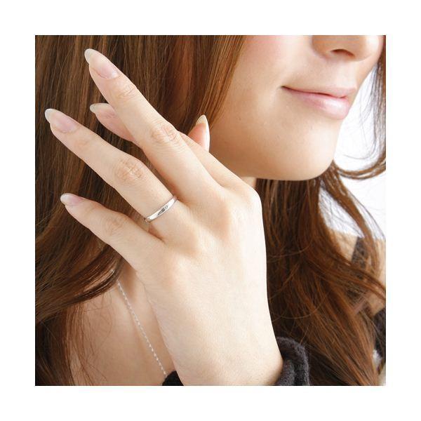 ピンクダイヤリング 指輪 サザンクロスリング 7号