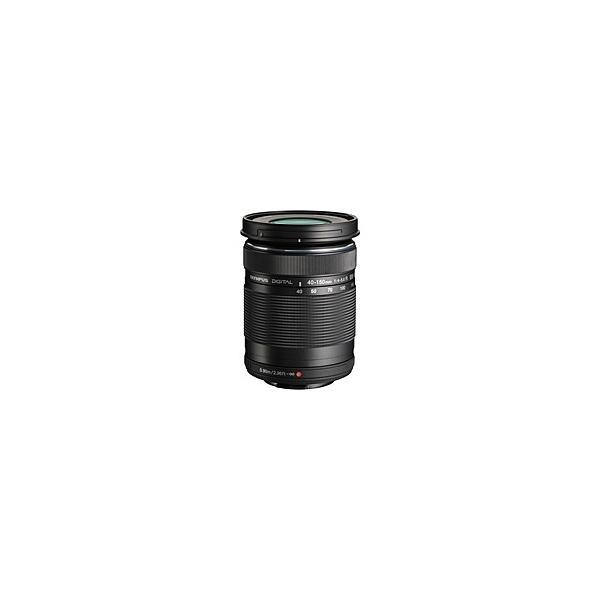 【在庫目安:お取り寄せ】OLYMPUS  EZ-M4015-R BLK マイクロフォーサーズ用 M.ZUIKO DIGITAL 40-150mm F4.0-5.6 R (ブラック)