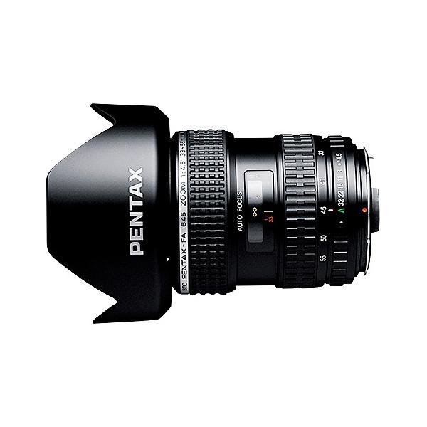【在庫目安:お取り寄せ】PENTAX  26805 広角ズームレンズ FA645 33-55mmF4.5AL (ケース・フード付)