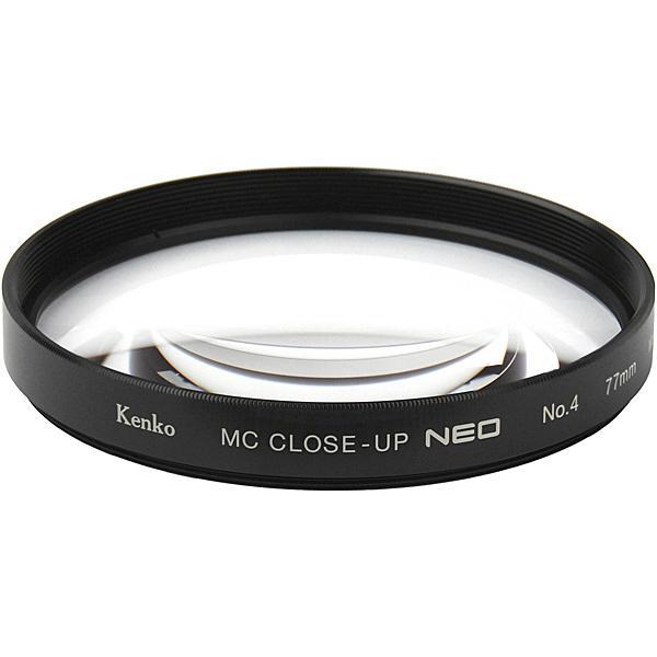 【在庫目安:お取り寄せ】ケンコー・トキナー  047720 レンズフィルター MCクローズアップ NEO No.4 77mm (接写距離 約17〜25cm)