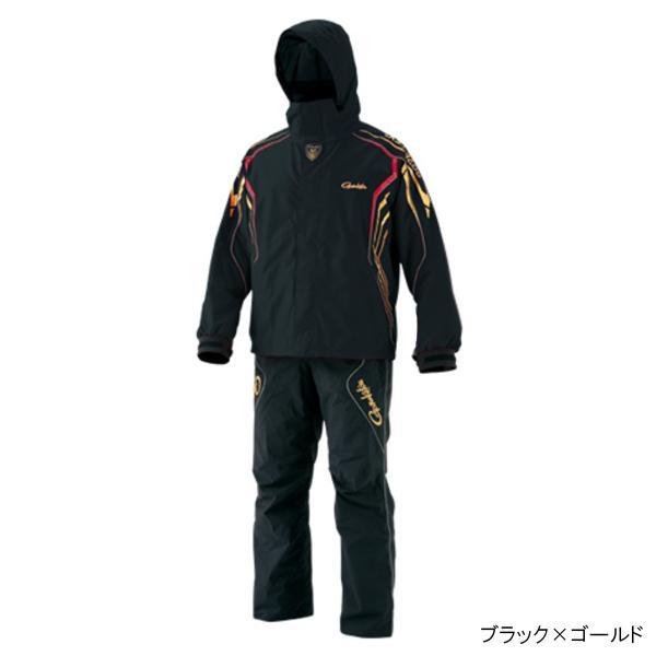 ゴアテックス レインスーツ GM-3500 LL ブラック×ゴールド(東日本店)