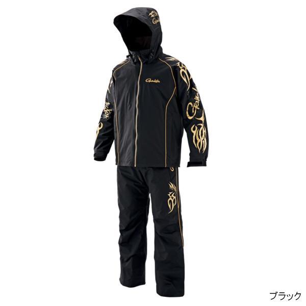 アルテマシールド200 フィッシングレインスーツ(超々耐久撥水仕様) GM-3502 L ブラック(東日本店)