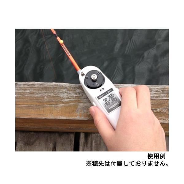 水深カウンター付 ワカサギ電動リール YH−202 ホワイト(東日本店)