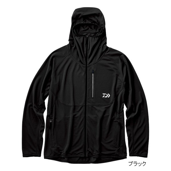 ダイワ アクティブフルジップパーカ DE-36009 M ブラック(東日本店)