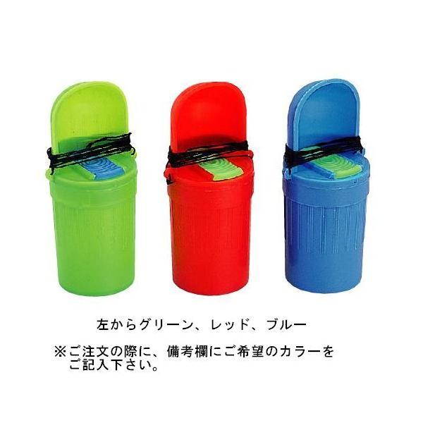 ナカジマ ベイトボックススタンダード サシ虫入 並 レッド/ブルー/グリーン(東日本店)