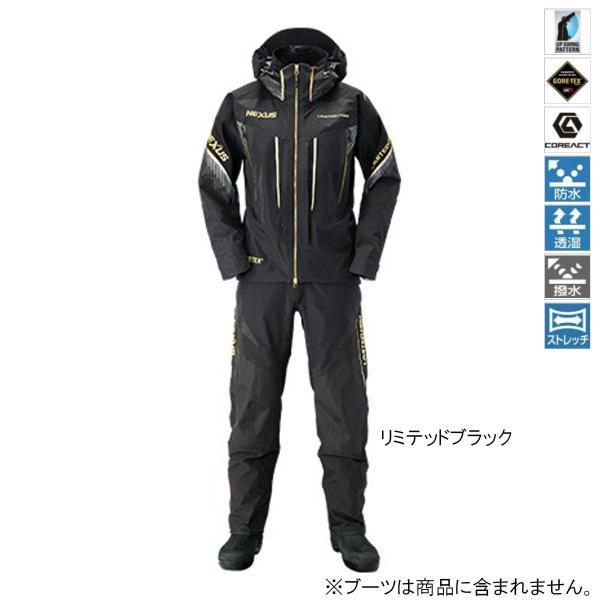 シマノ NEXUS・GORE-TEX レインスーツ LIMITED PRO RA-112S M リミテッドブラック(東日本店)