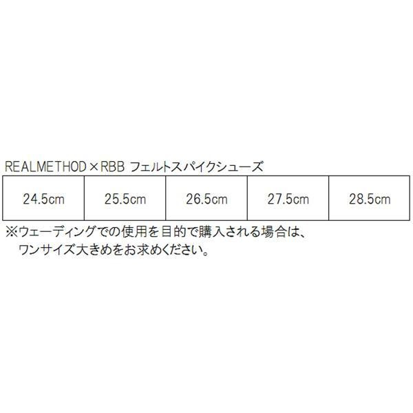 タカミヤ REALMETHOD RM×RBB フェルトスパイクシューズ 24.5cm ブラック(東日本店)
