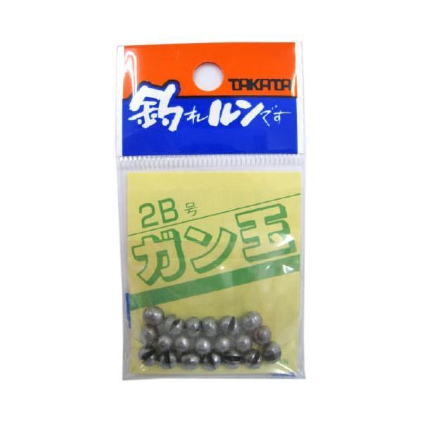 タカタ ガン玉P 2B【ゆうパケット】