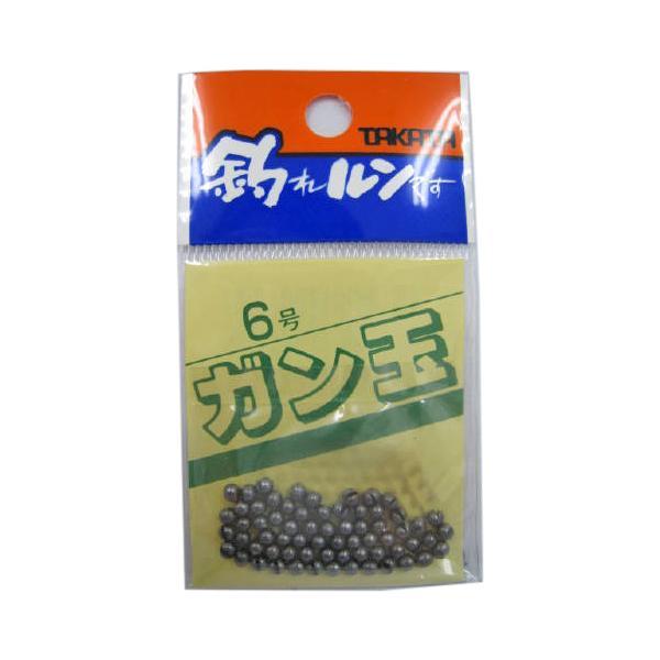 タカタ ガン玉P 6号【ゆうパケット】