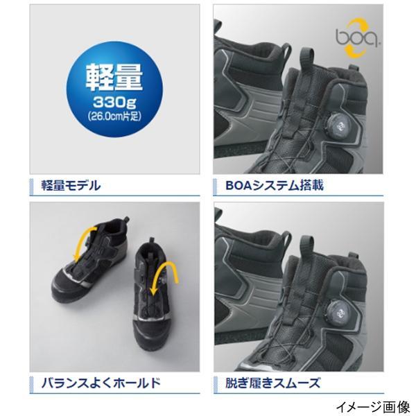 シマノ カットラバーピンフェルトフィットシューズ LT FS-041Q 26.5cm ブラック