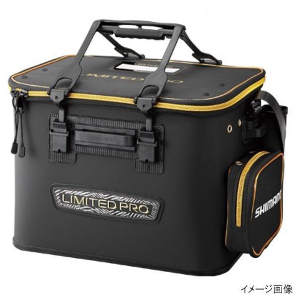 シマノ フィッシュバッカン LIMITED PRO(ハードタイプ) BK-121R 45cm リミテッドブラック
