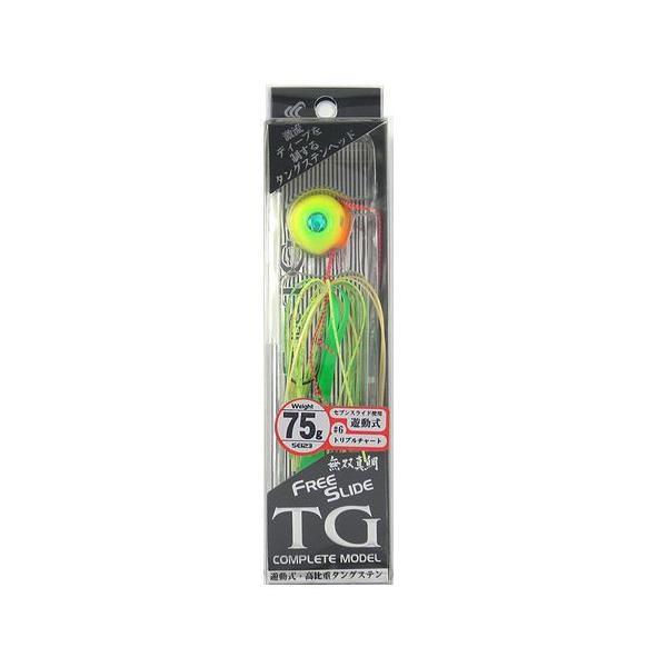 ハヤブサ 無双真鯛 フリースライド TGヘッド コンプリートモデル SE123 75g 6(トリプルチャート)