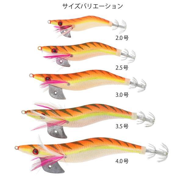 タカミヤ エギボンバー 夜光 3.0号 オレンジ【ゆうパケット】