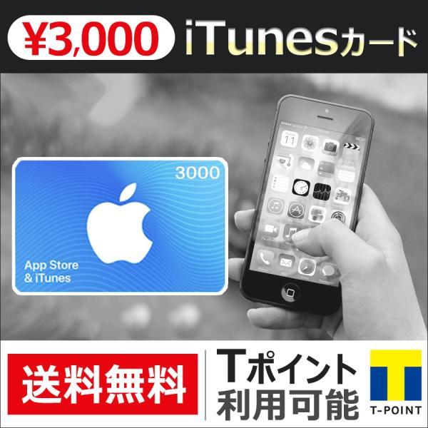 iTunesカード 3000 Apple プリペイドカード コード 通知 ポイント消化|point-use