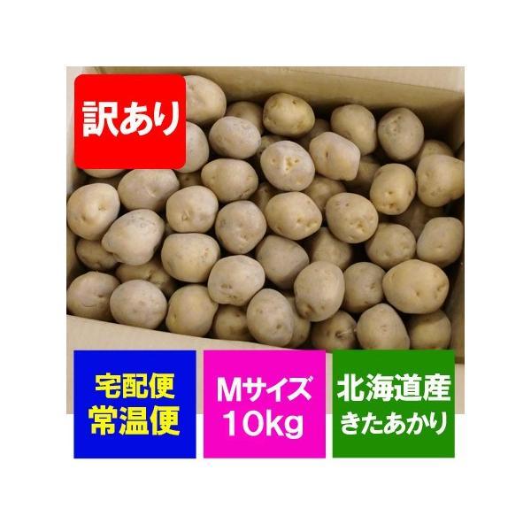 「訳あり」じゃがいも 北海道 きたあかり 北海道産 じゃがいも 北あかり 10kg Mサイズ 価格1748円 北海道 野菜 黄色いじゃがいも キタアカリ