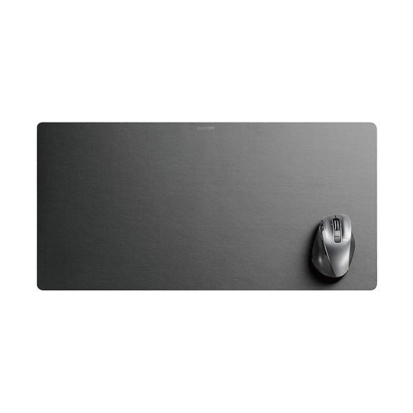 エレコム マウスパッド デスクマット 超大判 ブラック MP-DM01BK マウスパッド   ブラック ELECOM|pointshoukadou