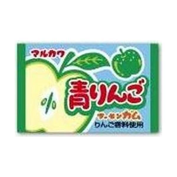 丸川製菓 青りんごガム 55入
