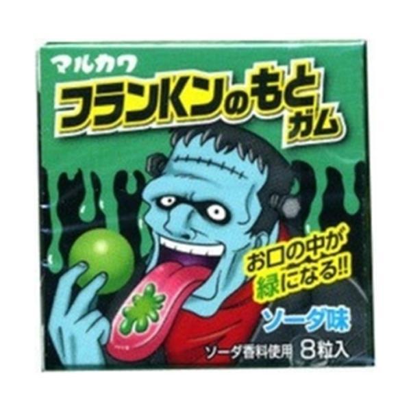 丸川製菓 フランKンのもとガム 8粒 18入