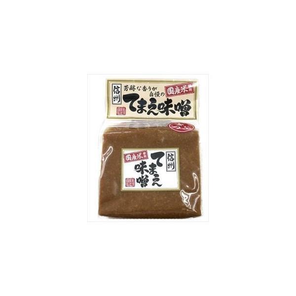 東信 信州てまえ味噌赤粒(業務用) 2kg×1袋