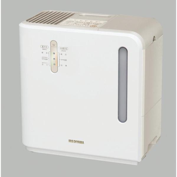 アイリスオーヤマ 気化ハイブリッド加湿器(イオン付) ARK-700Z-N ゴールド|pokkey