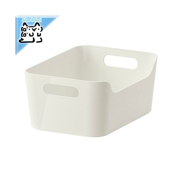 RoomClip商品情報 - IKEA Original VARIERA ボックス ホワイト 24x17 cm 収納ボックス