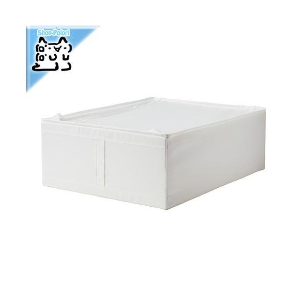IKEA Original SKUBB-スクッブ- 収納ケース ホワイト 44×55×19 cm