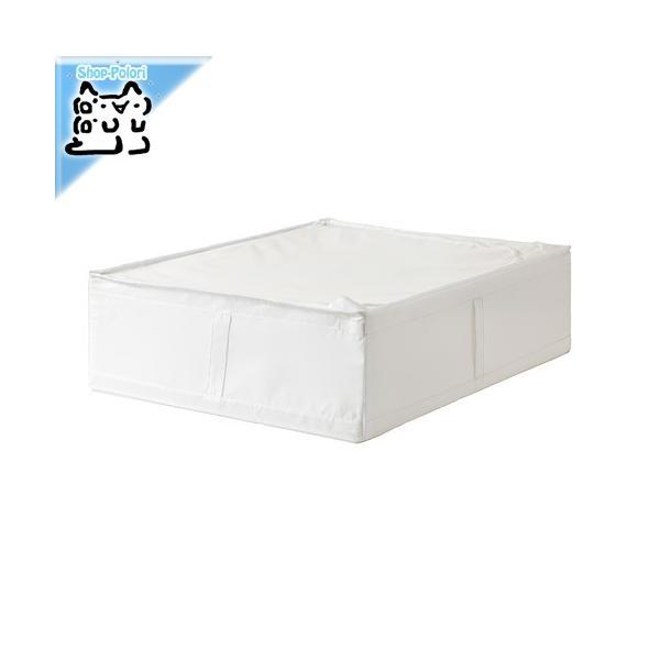 IKEA Original SKUBB-スクッブ- 収納ケース ホワイト 69×55×19 cm