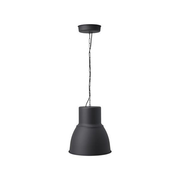 RoomClip商品情報 - IKEA Original HEKTAR ペンダントランプ ダークグレー 照明器具 チェーン