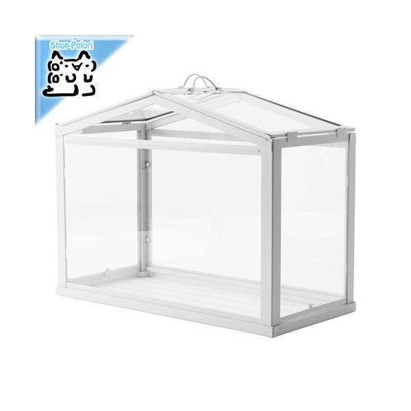 RoomClip商品情報 - IKEA Original SOCKER-ソッケル- 観葉植物用 簡易温室 ホワイト