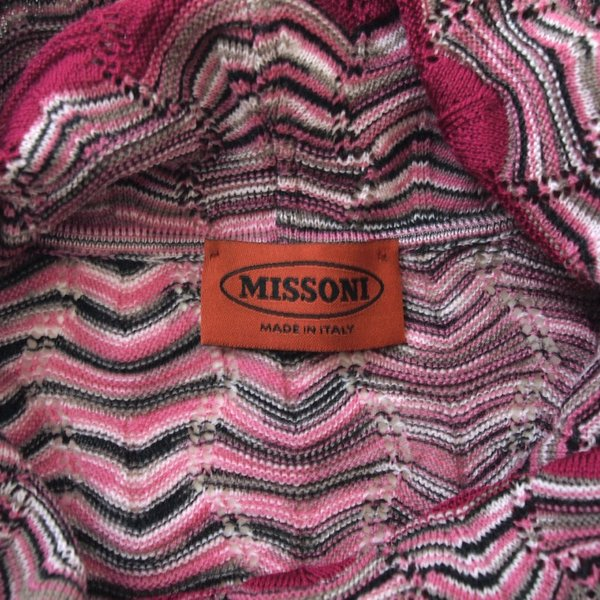 ミッソーニ シルクミックス チュニックワンピース MISSONI pomps 07