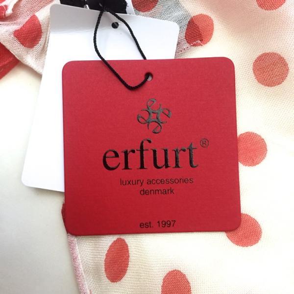 エルフルト スカーフ ストール ブ 3つの素敵なプリント レッド erfurt|pomps|04