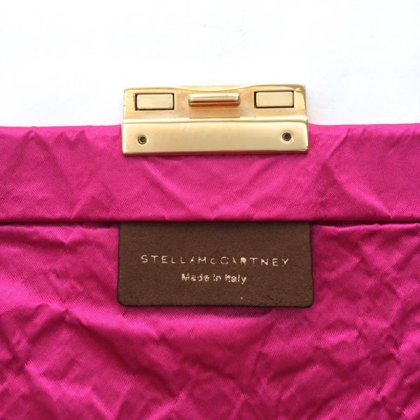 ステラマッカートニー ピンク クラッチバッグ 62%OFF! STELLA McCARTNEY|pomps|05