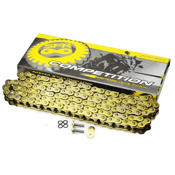 バイク チェーン 428-150L O-RING ゴールド 金 シールチェーン ドライブチェーン クリップ 交換用 A59GOAE|pond|04