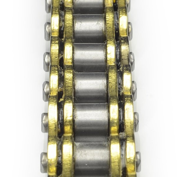 バイク チェーン 428-150L O-RING ゴールド 金 シールチェーン ドライブチェーン クリップ 交換用 A59GOAE|pond|06