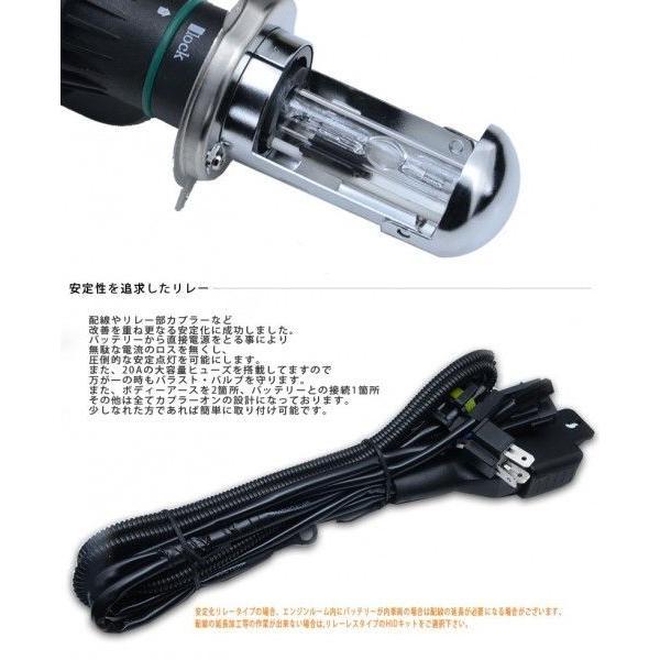 HID フルキット H4 55W 極薄型バラスト HIDバルブ 安定化リレー リレーレス選択 HIDヘッドライト ケルビン数 6000k 8000k 10000k 15000k 30000k radias pond 04