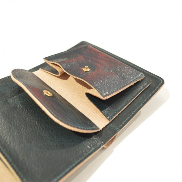 ohta(オータ) /  navy letter wallet|pop5151|03